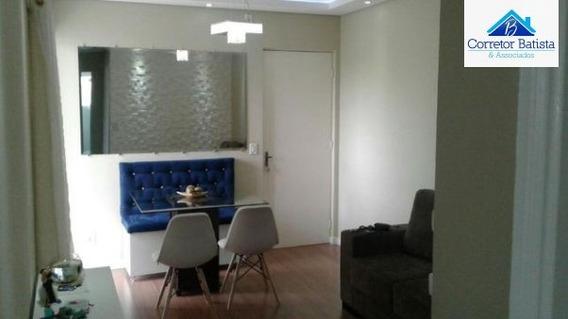 Apartamento A Venda No Bairro Vila Inema Em Hortolândia - - 2074-1