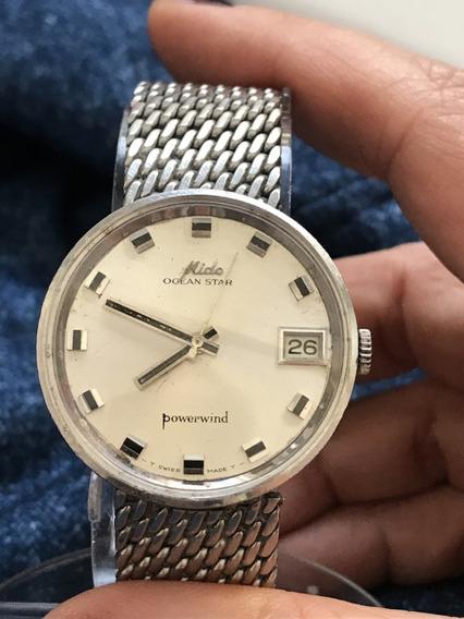 Relógio Nível Omega Automático Mido, Completo, Maravilhoso!