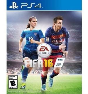 Fifa 16 Ps4 Blue Ray Fisico