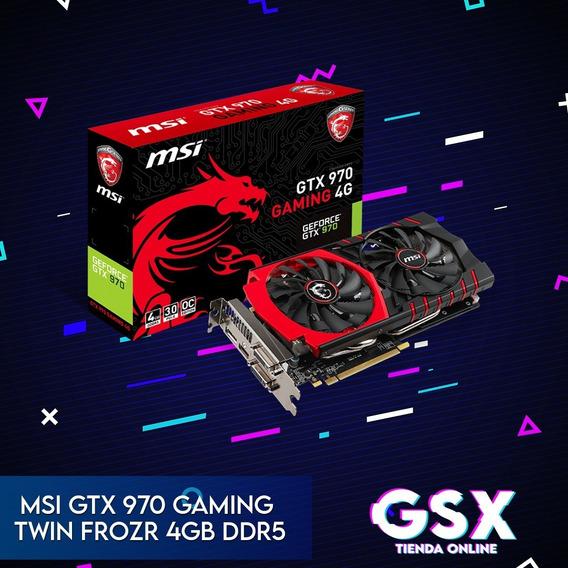 Gtx 970 4gb Ddr5 Msi Twin Frozr