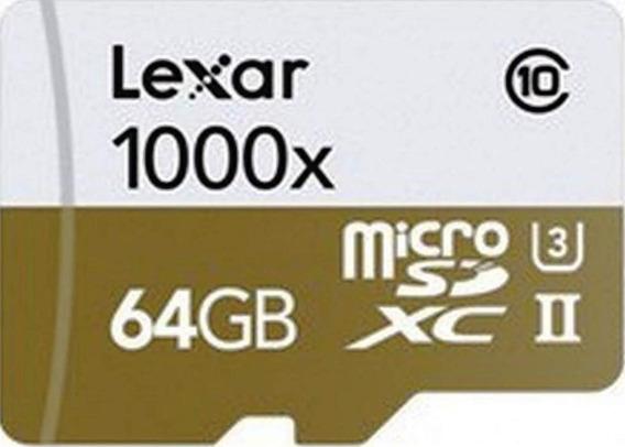 Lexar Micro Sd 1000x Professional 64gb Super Rapido! 130mb/s