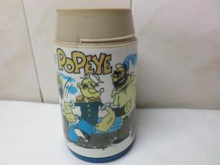 Vaso Termo Popeye Original Aladdin Usa 1979