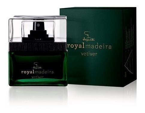 Jequiti Royal Madeira Vetiver Des Colônia Masculina -75ml