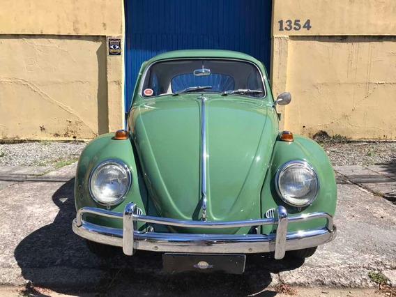 Volkswagen Fusca 1300 1970 Placa Preta