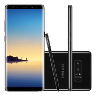 Samsung Galaxy Note 8 N950f 128gb Dual 12mp Preto Vitrine 2