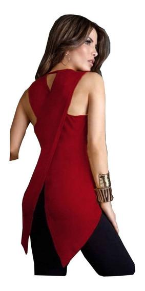 Pack X2 Remeron Remera Algodon Deportivo Musculosa Mujer
