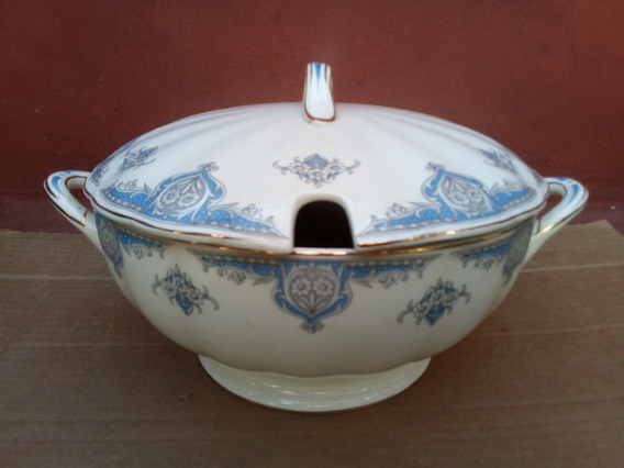 Antigua Guisera Sopera Porcelana Creampetal Grindley England