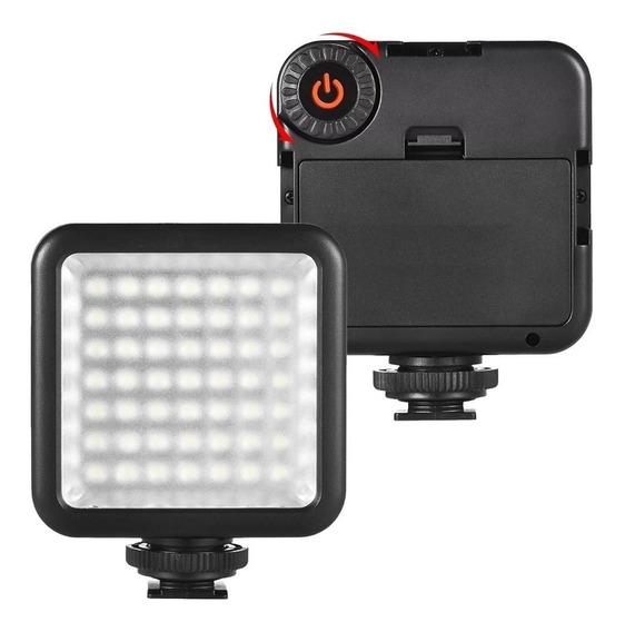 Iluminação De 49 Led Vídeo Filmagem Canon Nikon Sony A7 Dslr