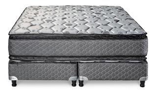 Sommier Piero Regno Pillow 200 X 160 Queen Resortes Cuotas