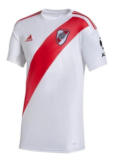 Camiseta River Plate Futbol Hombre Titular Sin Sponsor