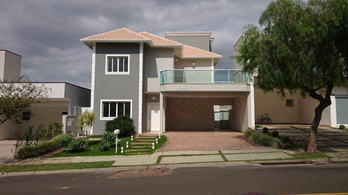 Casa À Venda, 349 M² Por R$ 1.300.000,00 - Condomínio Amstalden Residence - Indaiatuba/sp - Ca4006