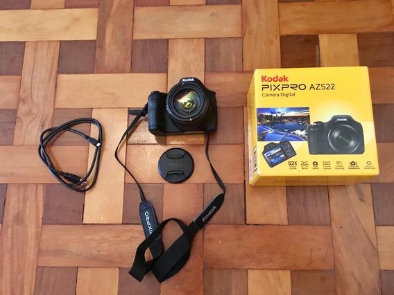 Câmera Digital Semi-profissional - Kodak Pix Pro Az 522 + Sd 8gb