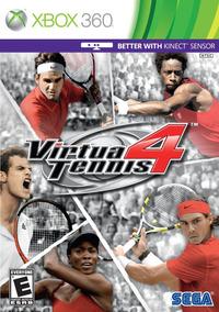 Jogo Virtua Tennis 4 Xbox 360 X360 Mídia Física Frete Grátis