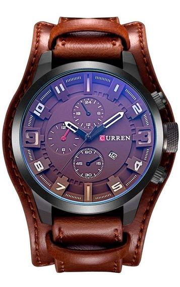 Reloj Curren Hombre Análogo Fechador Ejecutivo Casual Cuarzo