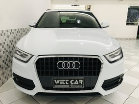Audi Q3 Attraction 2.0 Quattro 2014 Branco Interior Caramelo