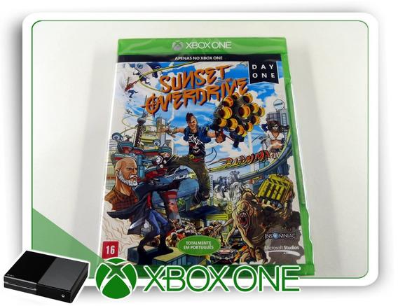 Sunset Overdrive Origin. Xbox One Lacrado Pt-br Mídia Física