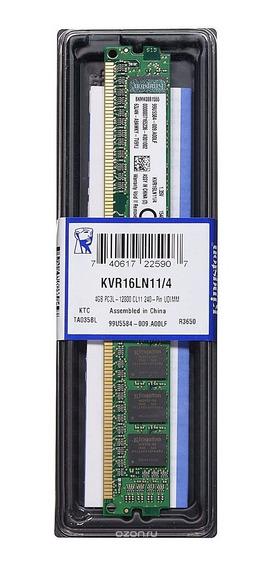 Memória Kingston 4gb Ddr3 1600 Mhz 240-pin P/ Placa Mãe Asus