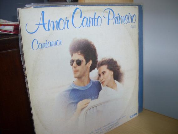 Lp Cantamor Amor Canto Primeiro Vol. 2 Bossa