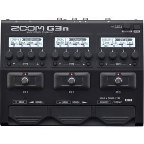 Pedaleira Para Guitarra Zoom G3n Guitarra Original