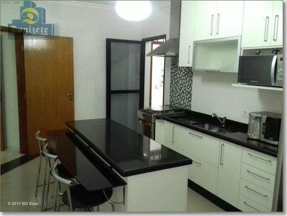 Apartamento Com 4 Dormitórios Para Alugar, 130 M² Por R$ 3.000/mês - Vila Assunção - Santo André/sp - Ap0892