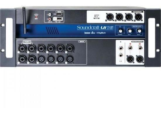 Mesa De Som 16 Canais Ui-16 Soundcraft