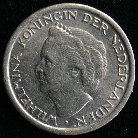 Paises Bajos, 10 Cents, 1948. Sin Circular