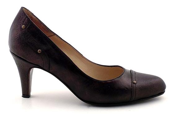 Zapato Mujer Clásico Cuero Briganti - Mccz03225