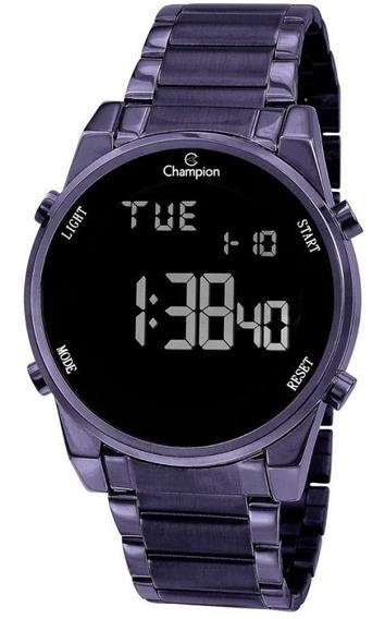 Relógio Champion Feminino Digital Roxo Original Garantia
