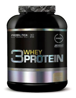 Whey Protein 3w 2kg Wpc + Wpi + Wph - Probiotica