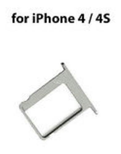 Bandeja Sim Card Tray iPhone 4 Y 4s Nueva Original Apple Usa