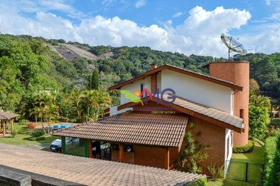 Casa Residencial À Venda, Clube Da Montanha, Atibaia. - Ca0212
