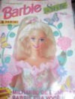 Álbum De Figurinhas Barbie Style (incompleto)