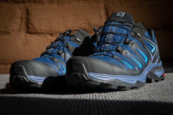 Tênis Salomon X Ultra 3 Goretex Para Caminhada Em Trilha