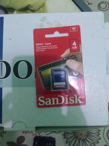 Memoria Sandisk Sdhc Card 4gb