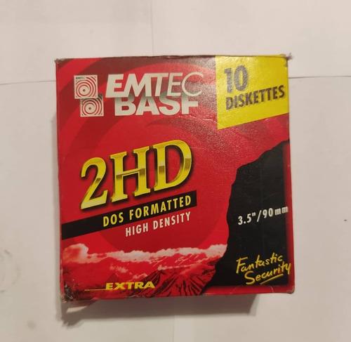 Imagen 1 de 2 de Diskettes 3.5 /90mm Basf 2hd