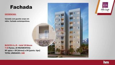 Lançamento Villa Lazio Residencial- Santa Bárbara Do Oeste - Ap0513