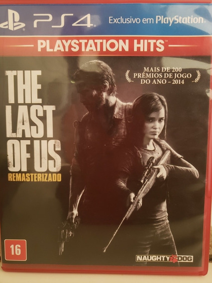 The Last Of Us Remastered Pt-br. Midia Física.