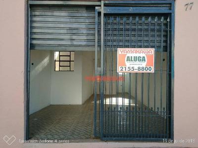 Salão Para Alugar, 21 M² Por R$ 800/mês - Itaquera - São Paulo/sp - Sl0345
