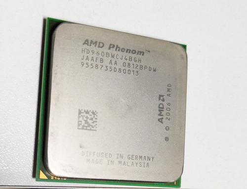 Processador Phenom X4 9600 + 4x2gb Memória (8gb) Ddr2 Novas