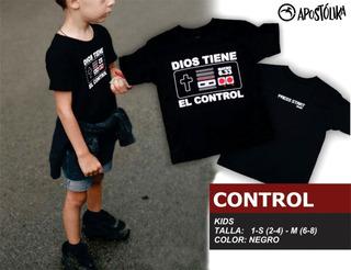 Playera Dios Tiene El Control (niño)