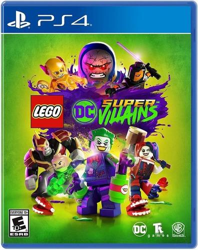 Imagen 1 de 3 de Lego Dc Super Villains Ps4 Fisico Sellado Cd Sevengamer