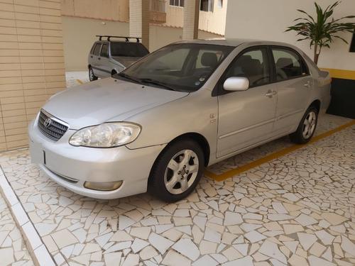Imagem 1 de 11 de Corolla Xei 1.8 Gas Automático Prata 2006