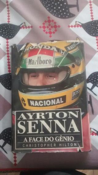 Livro Airton Senna Capa Especial.
