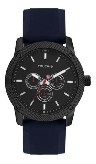 Relógio Touch Masculino Preto