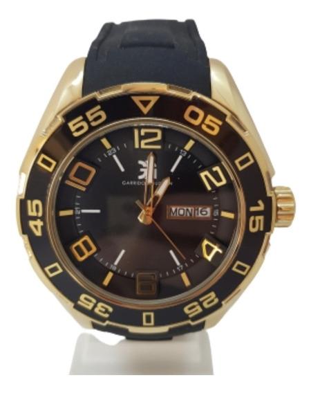Relógio Masculino Dourado Garrido&guzman - Promoção