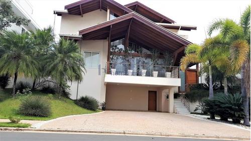 Casa Com 4 Dormitórios À Venda, 427 M² Por R$ 2.750.000,00 - Alphaville Dom Pedro - Campinas/sp - Ca2326