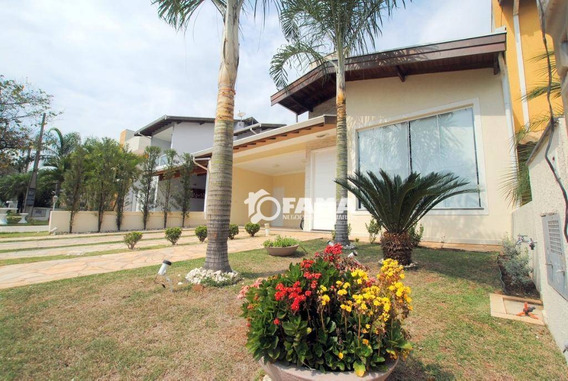 Casa Residencial À Venda, Condomínio Campos Do Conde, Paulínia - Ca1618. - Ca1618