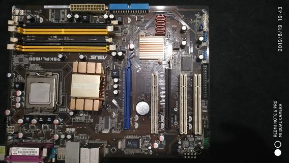 Kit Asus P5kpl + Intel Core ²duo E7400 + Gforce Gt 9300