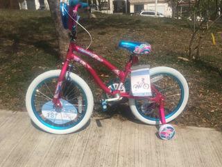 Bicicleta Kent Spoiler Para Niñas Ruedas De 18 Pulgadas