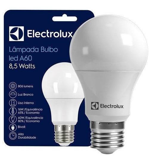 Kit 20 Lâmpadas Led 8,5w Electrolux